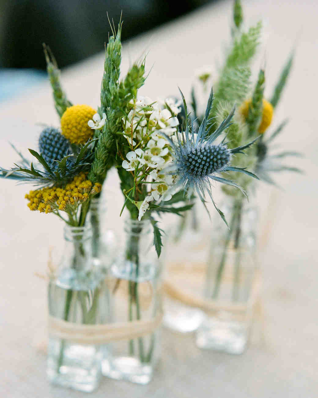 Small Flower Spring Centerpieces