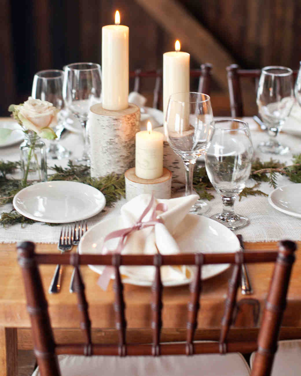 February Wedding Centerpieces Gallery Wedding Decoration Ideas A Rustic  Winter Destination Wedding In Vermont Martha Stewart