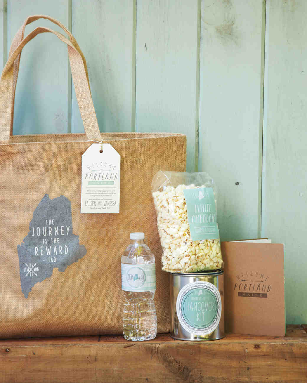 Welcome To Our Wedding Weekend Gift Bags: 11 Unique Ways To Show Off Your Favorite Quotes At Your