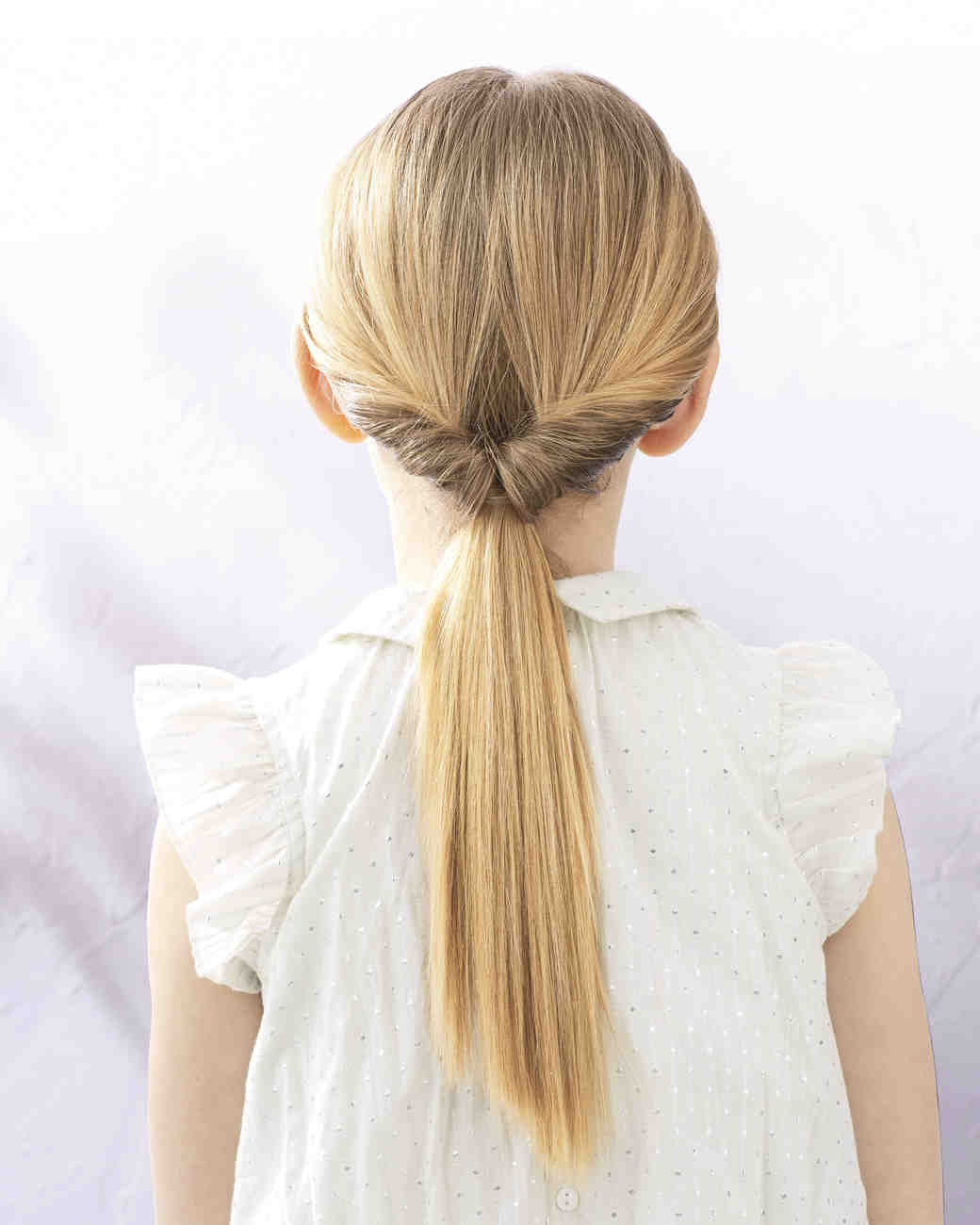 Flower Girl Hairstyles super cute flower girl hairstyle ideas to make Flipped Ponytail