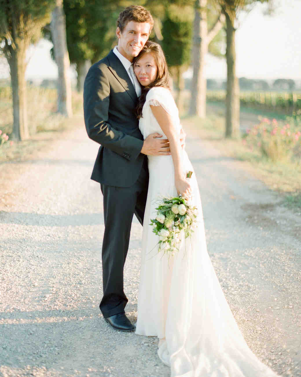 Bride And Groom Only Wedding Ideas: An Intimate Wedding Outdoors In Italy