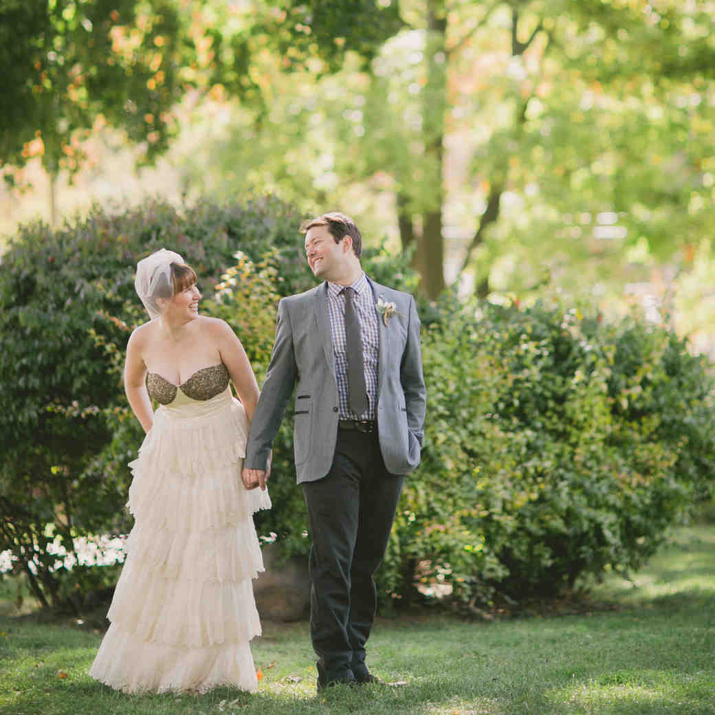 A Vintage and Whimsical Black-and-Gold Destination Wedding in Canada