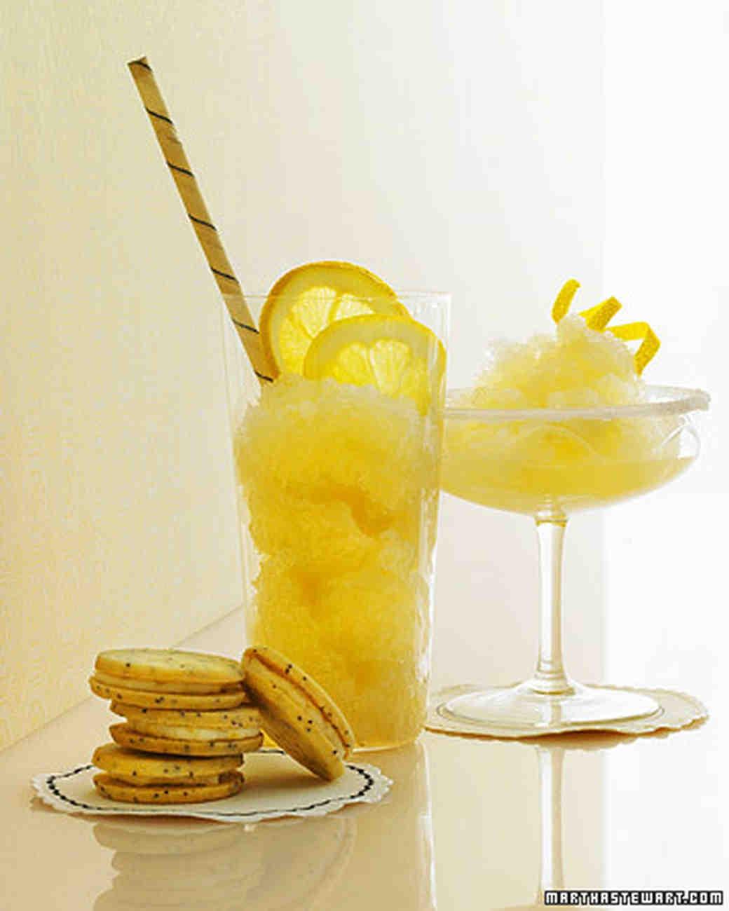 Frozen Ginger Lemon Drop