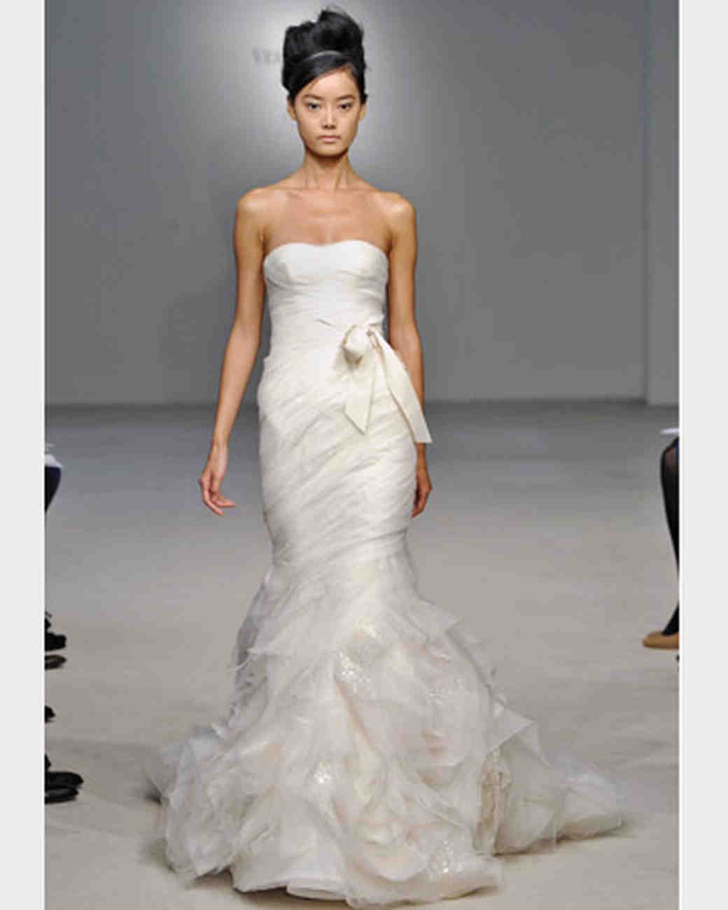 Vera Wang, Fall 2011 Collection | Martha Stewart Weddings
