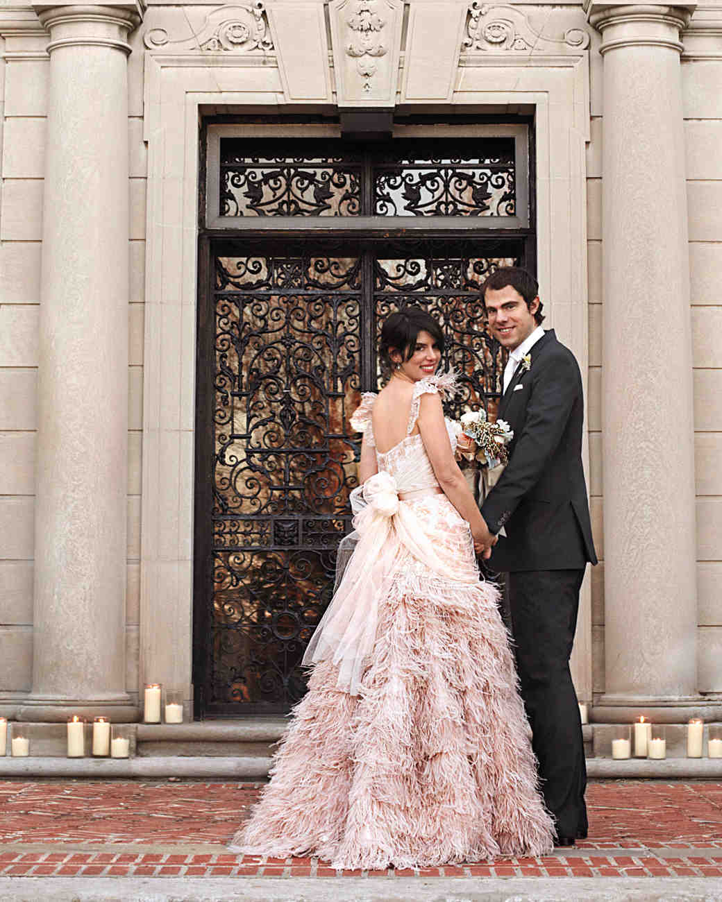 A french inspired vintage wedding in new york martha for Vintage wedding dresses nyc