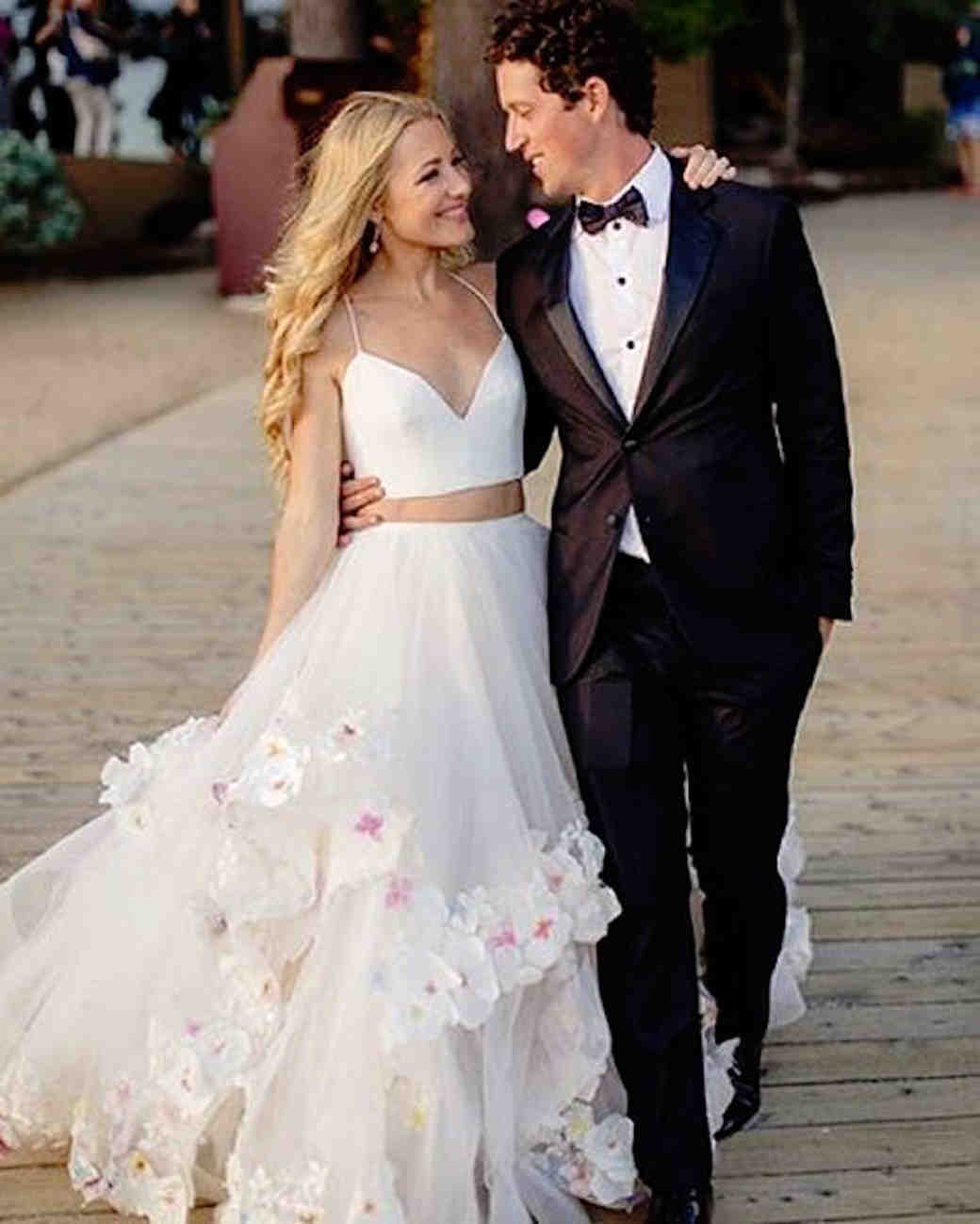 What Fashion Designers Wore For Their Own Weddings