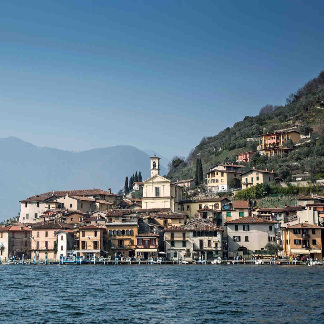 Lake Iseo Italy