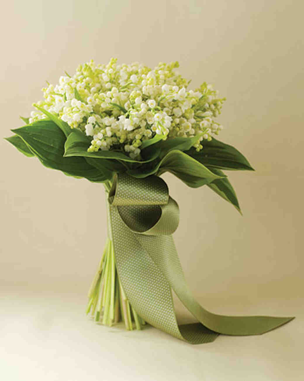 Faux Lily Of The Valley Bouquet In Square Vase Traditional Artificial Flower Arrangements