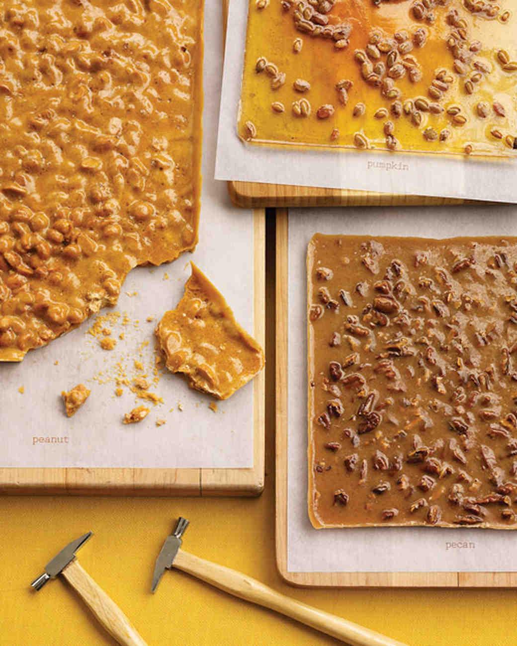 Fall Foods For Wedding: Peanut Brittle