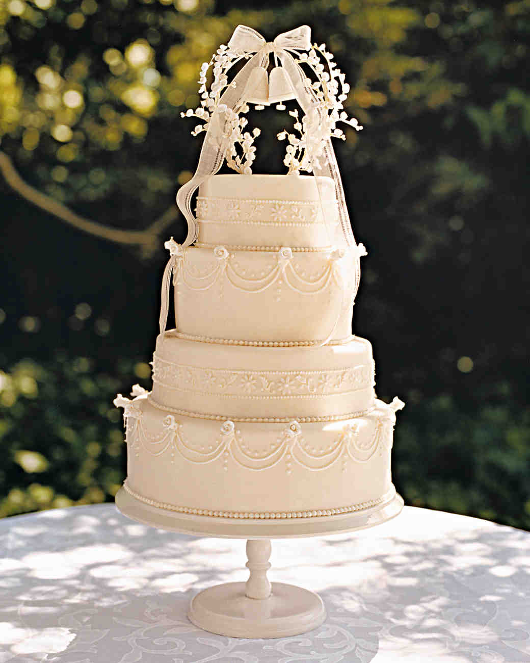 Bride Wedding Cake Topper: Martha Stewart Weddings