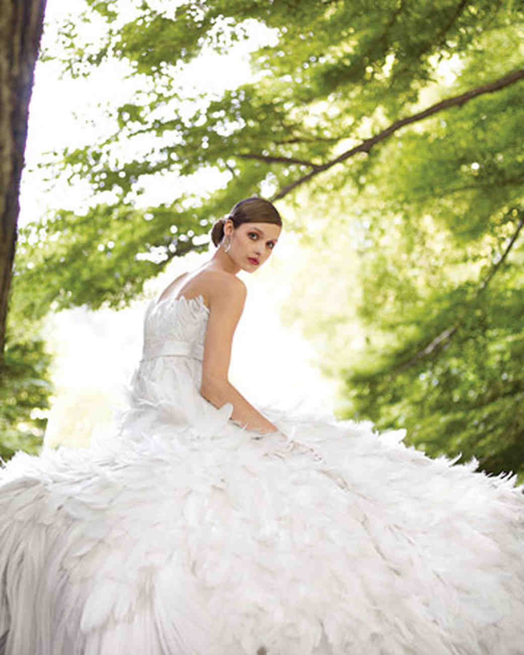 Bridal Gowns For Outdoor Weddings : Perfect gowns for an outdoor wedding martha stewart weddings