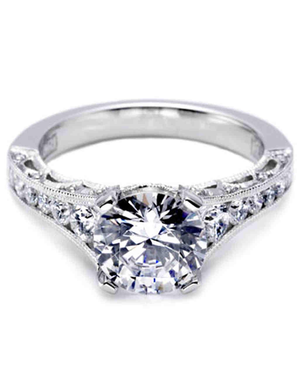 tacori engagement ring martha stewart weddings