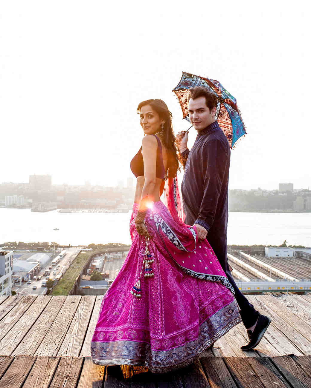 A Modern Sangeet And Traditional Garden Wedding In New York