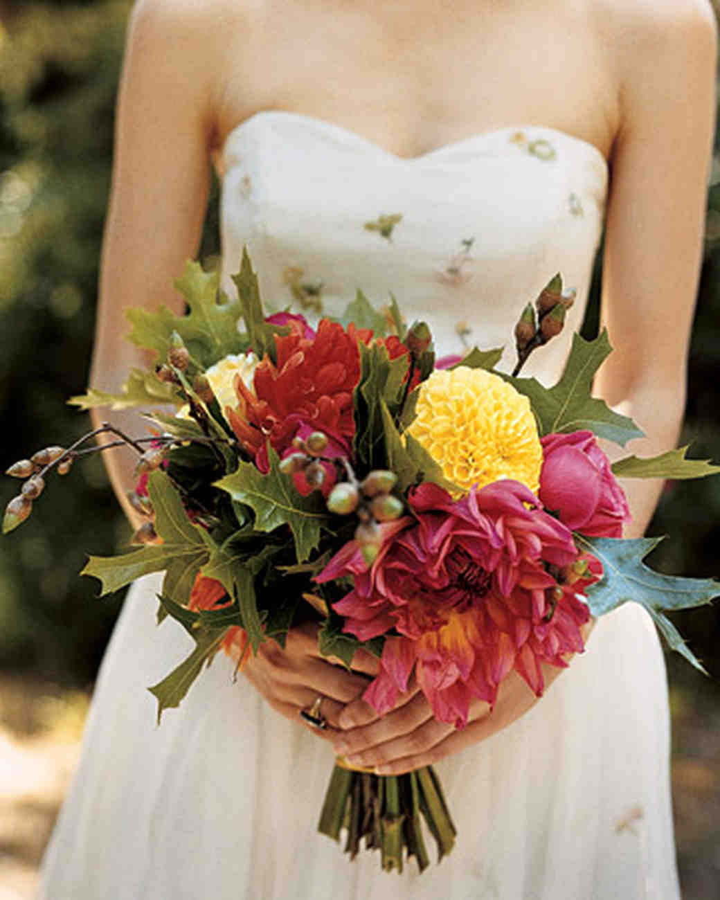 Bright, Wild Bridal Bouquet