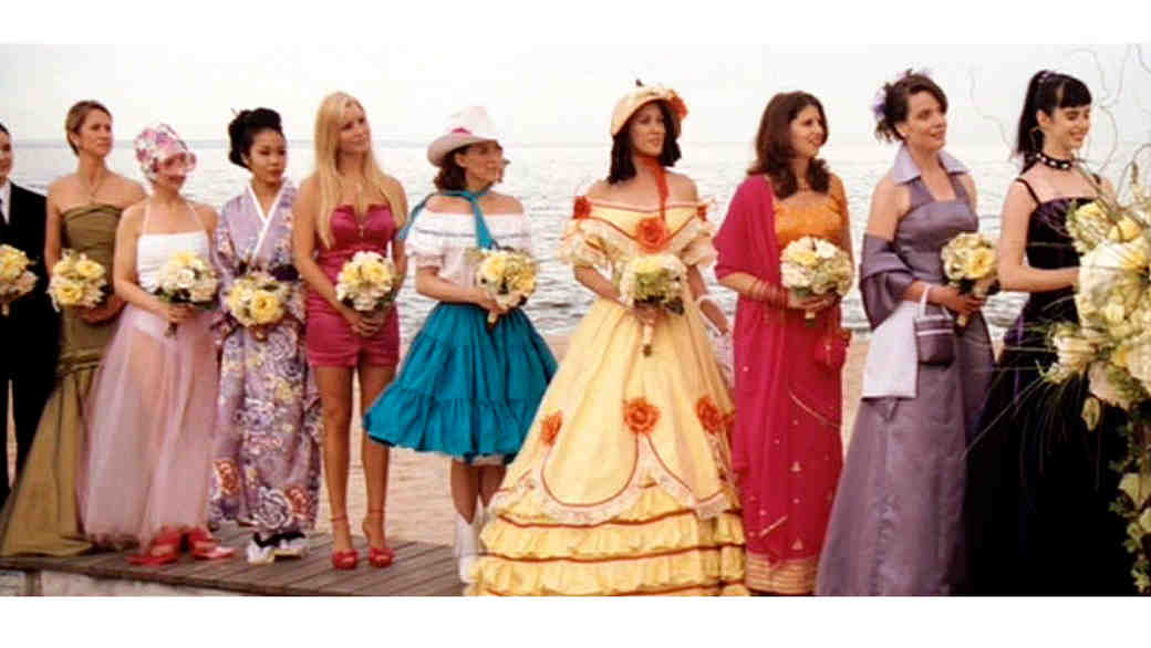 """27 Dresses"" Bridesmaids"
