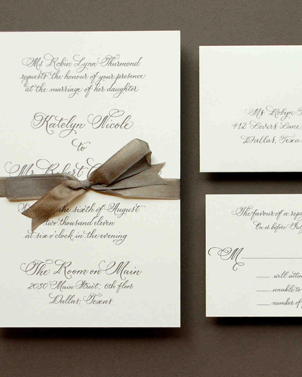 Your Wedding Guest List Etiquette Questions Answered   Martha Stewart  Weddings