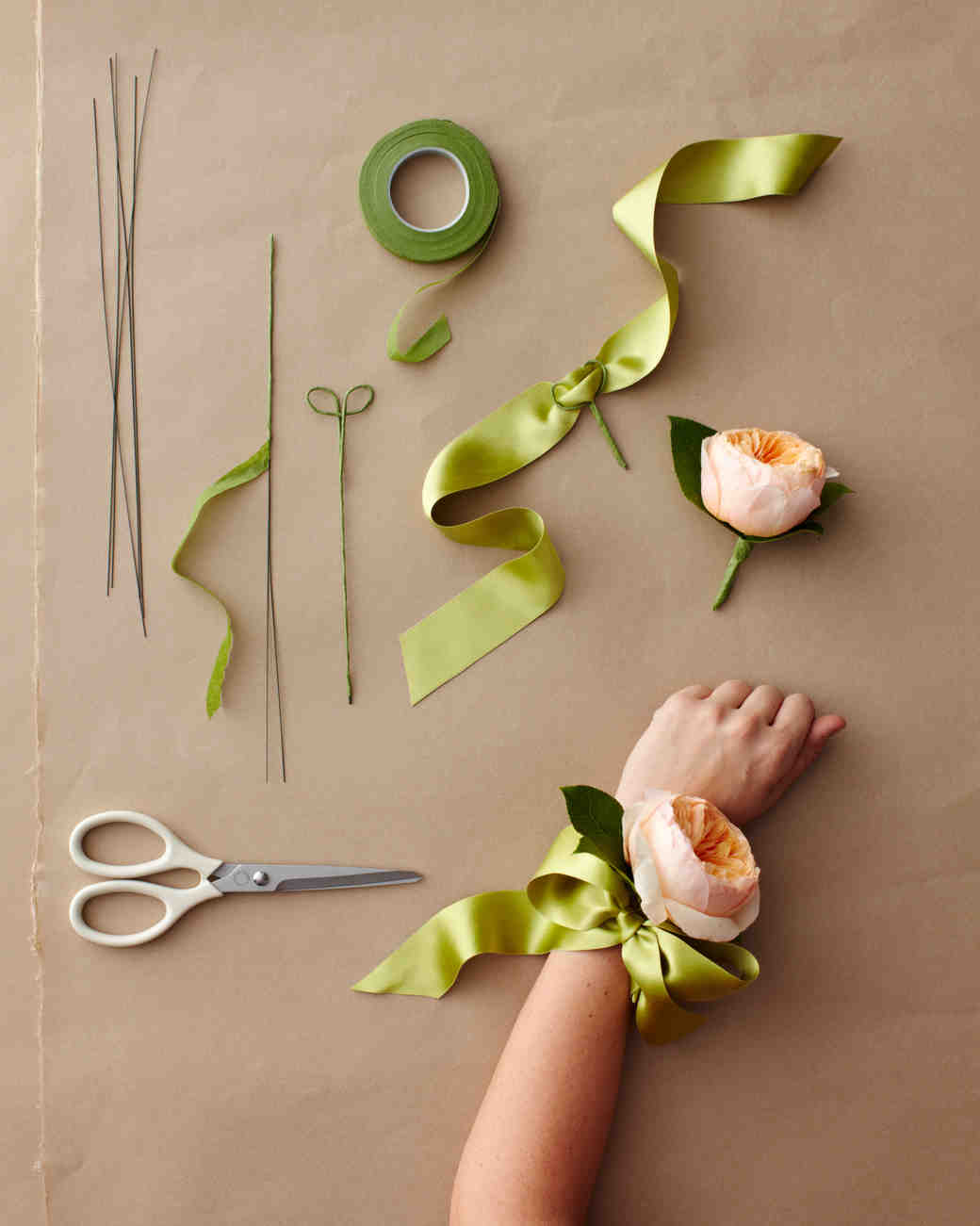 wedding corsage ideas  martha stewart weddings, Beautiful flower