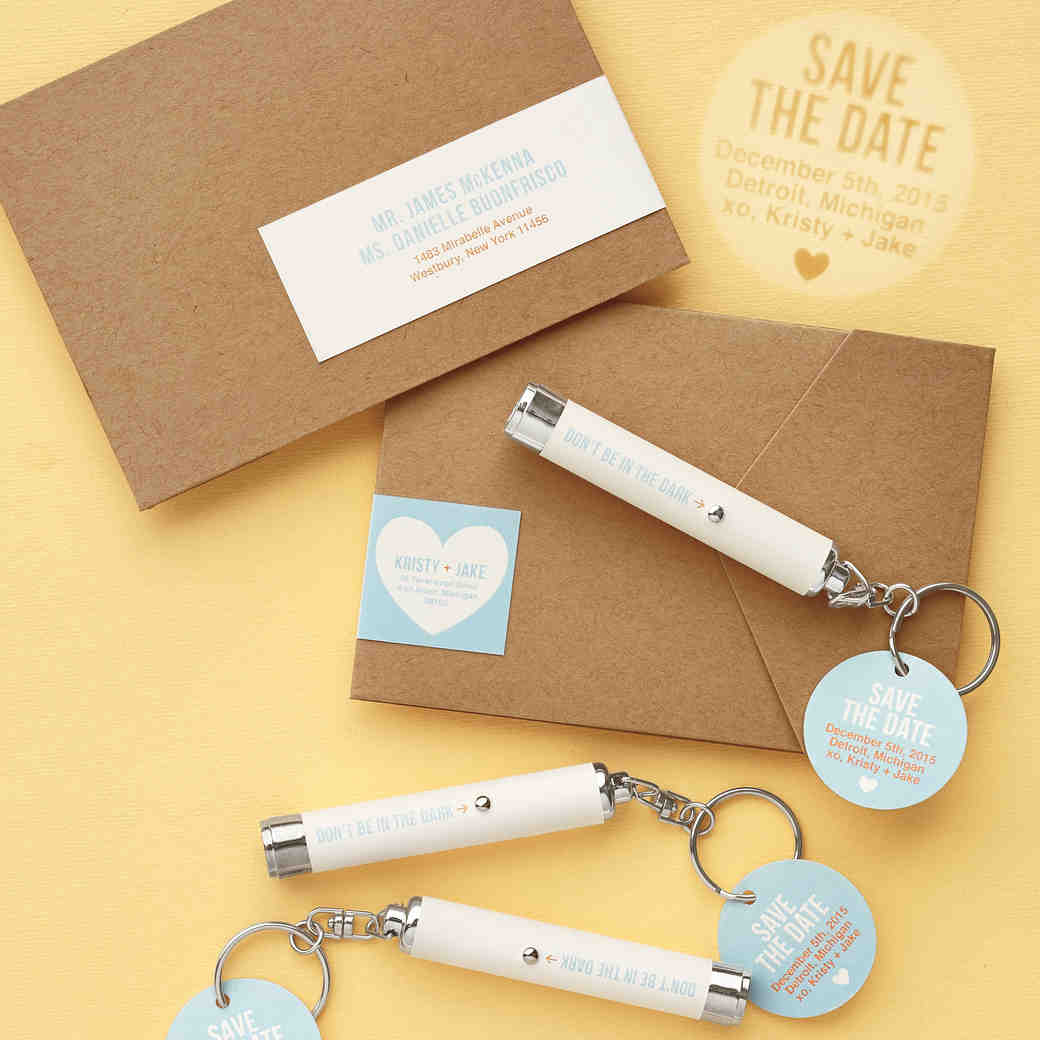Flashlight Save-the-Dates