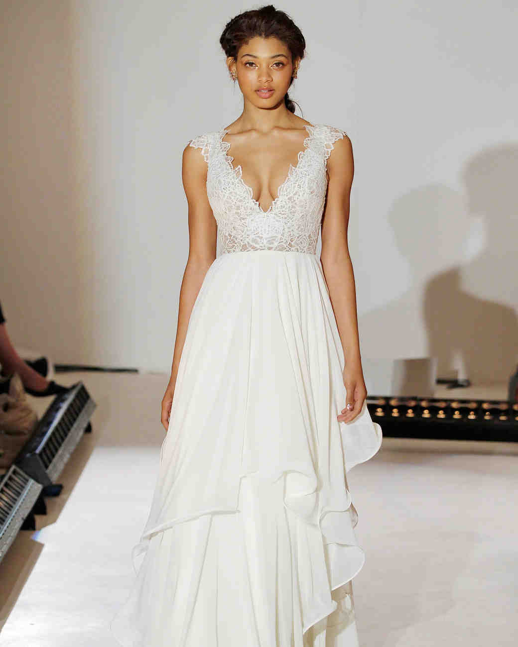 Hayley Paige Simple A-Line Wedding Dress