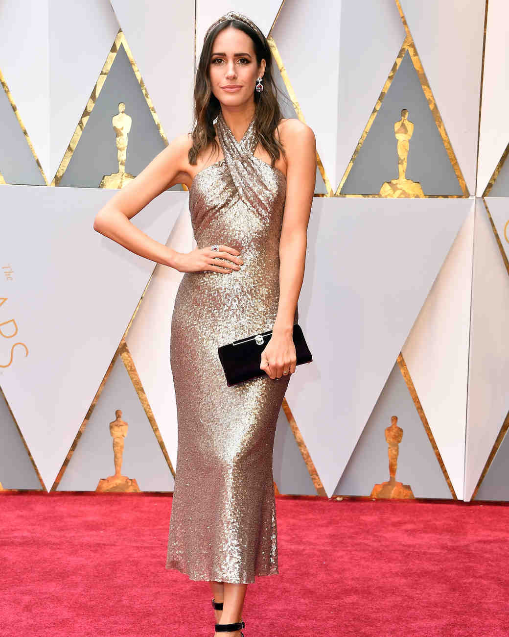 Louise Roe 2017 Oscars Red Carpet