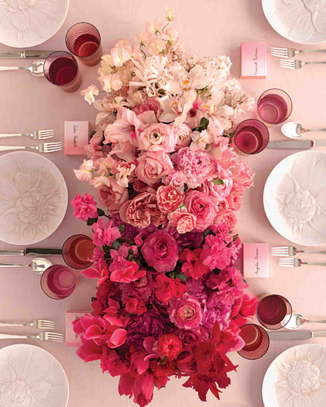 Pink Wedding Flowers: 37 Pink Wedding Centerpieces