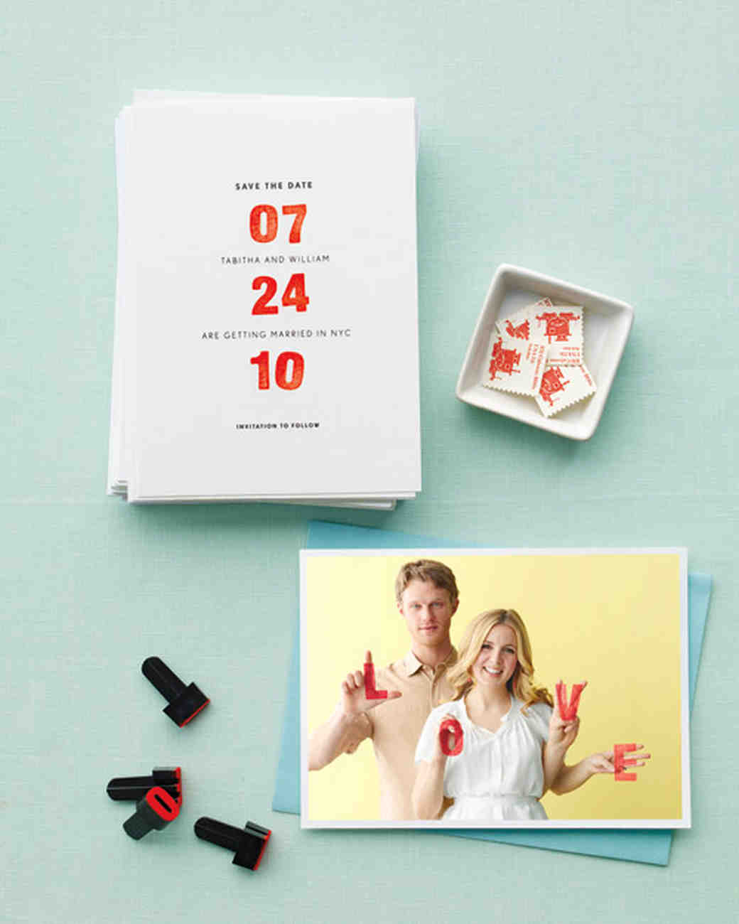 Personalized Wedding Save-the-Date How-To