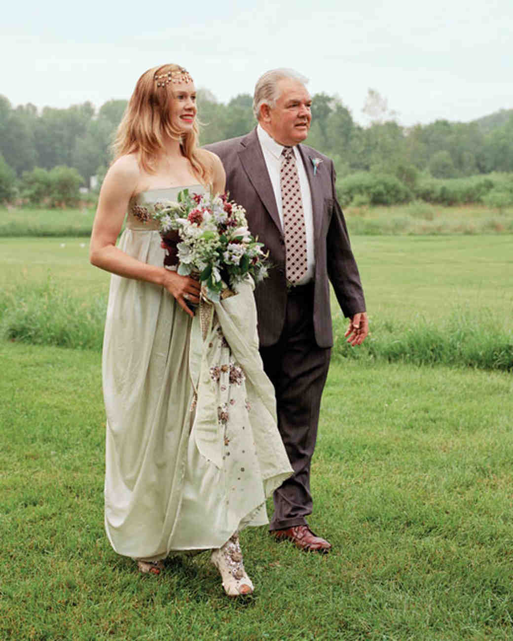 An Intimate Rustic Wedding in New York | Martha Stewart ...