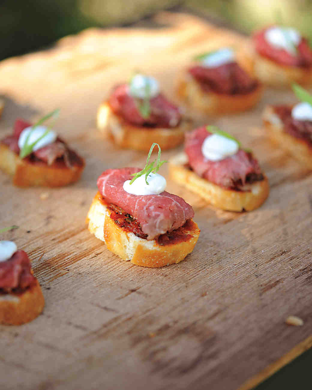 An elegant rustic wedding outdoors in idaho martha for French canape menu