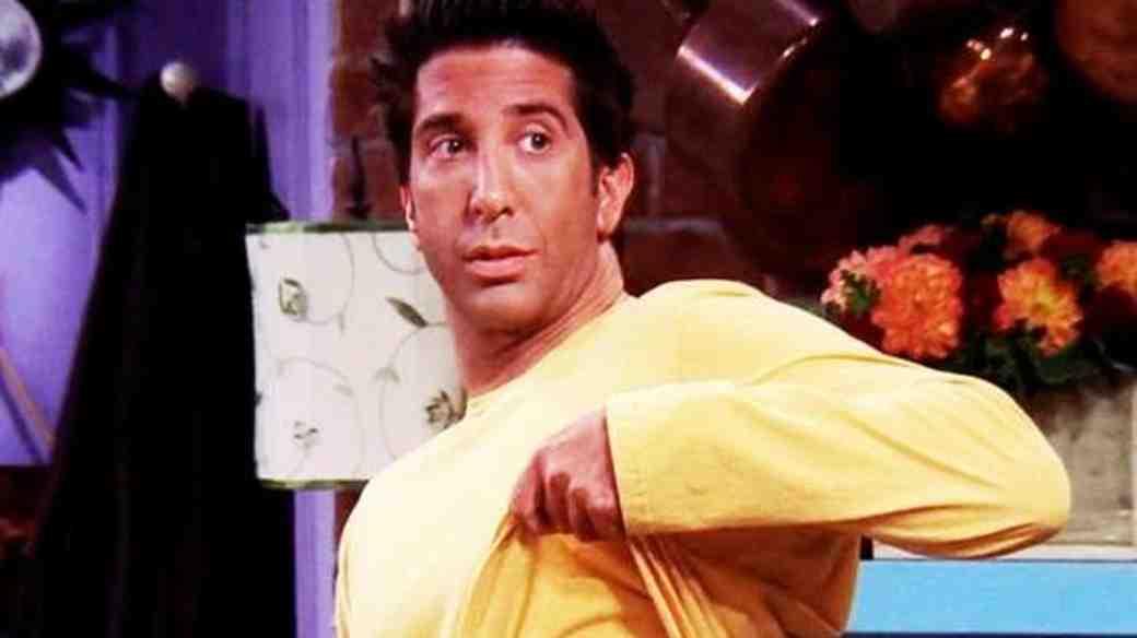 Ross Friends Tanning Episode