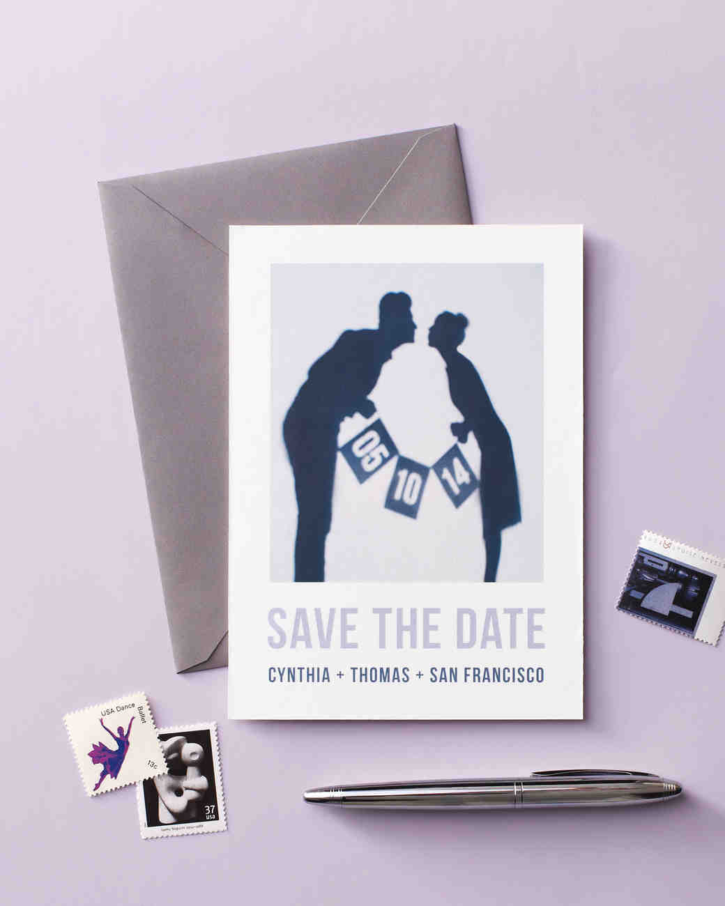 Perfect 30 DIY Save The Dates To Kick Off Your Wedding | Martha Stewart Weddings