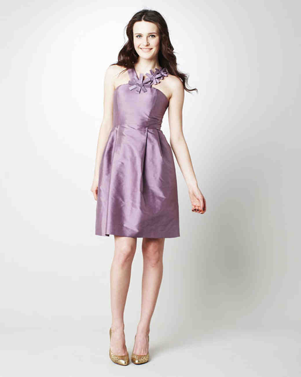 Simple Silhouettes, Spring 2012 Bridesmaid Collection | Martha ...