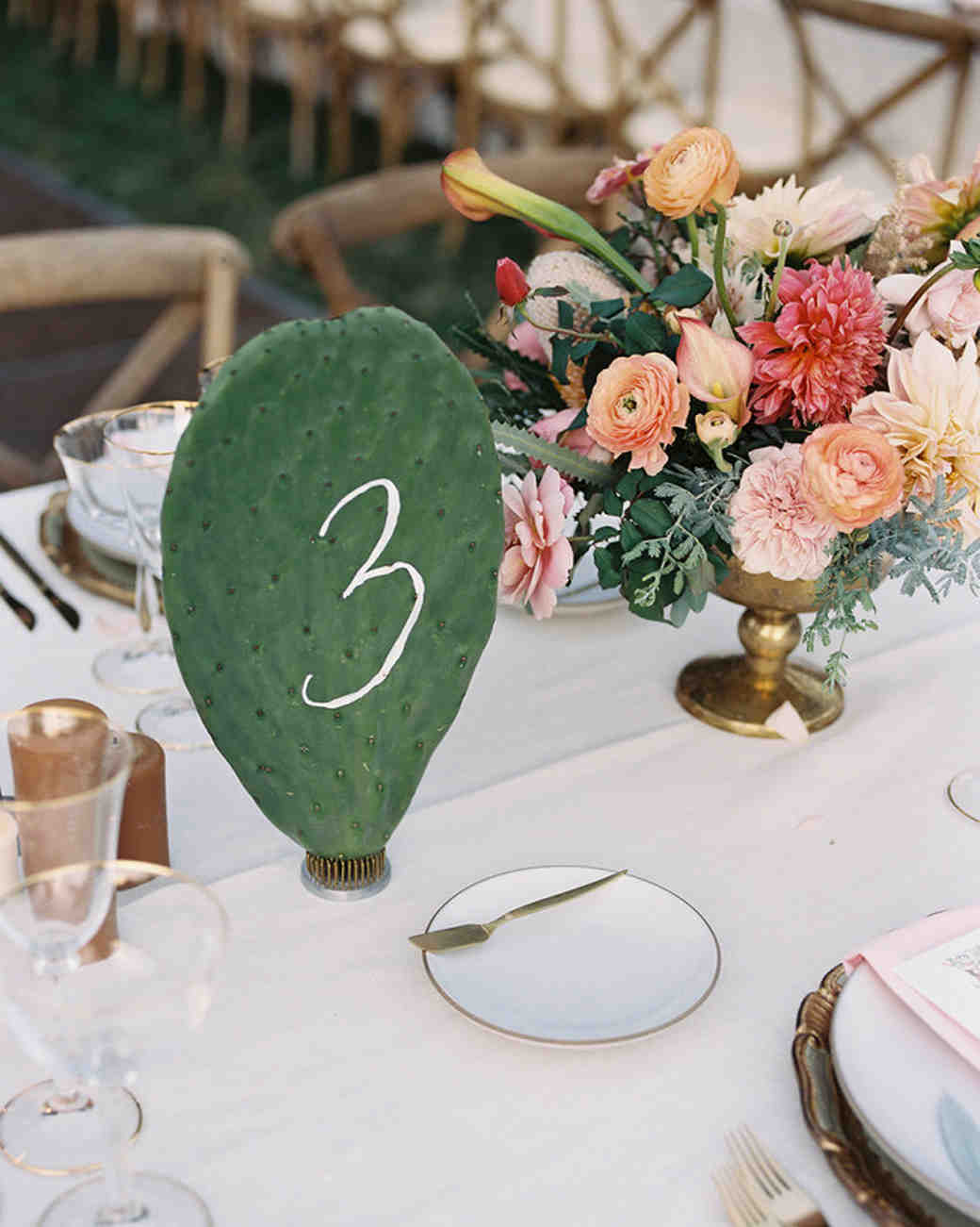 Cactus Table Number