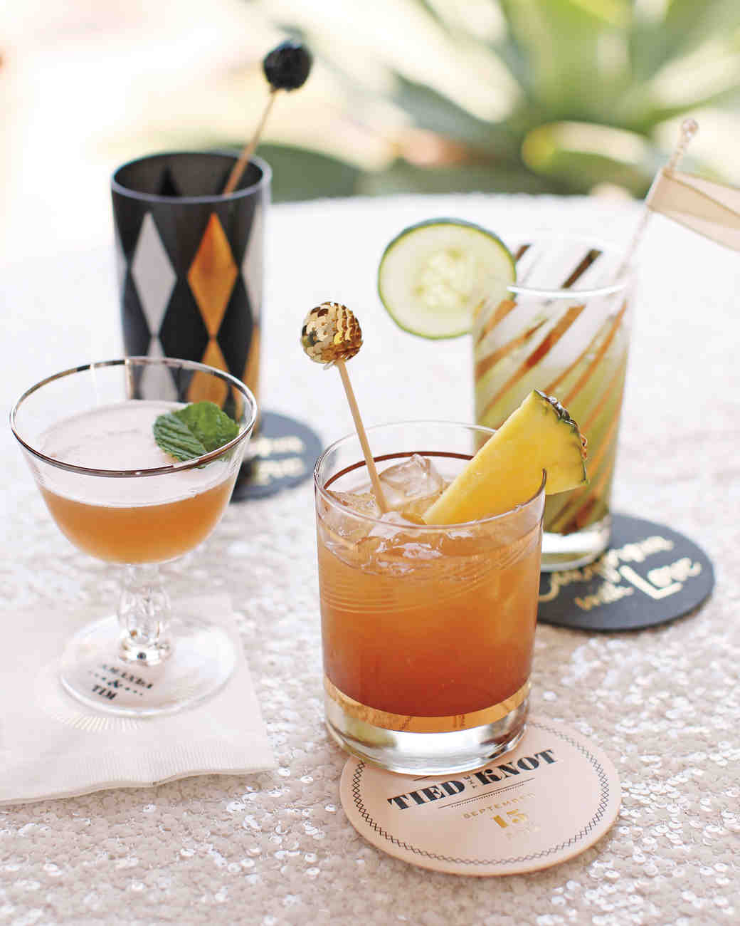 Cocktail Wedding Ideas: Cocktail Hour Ideas From Real Weddings