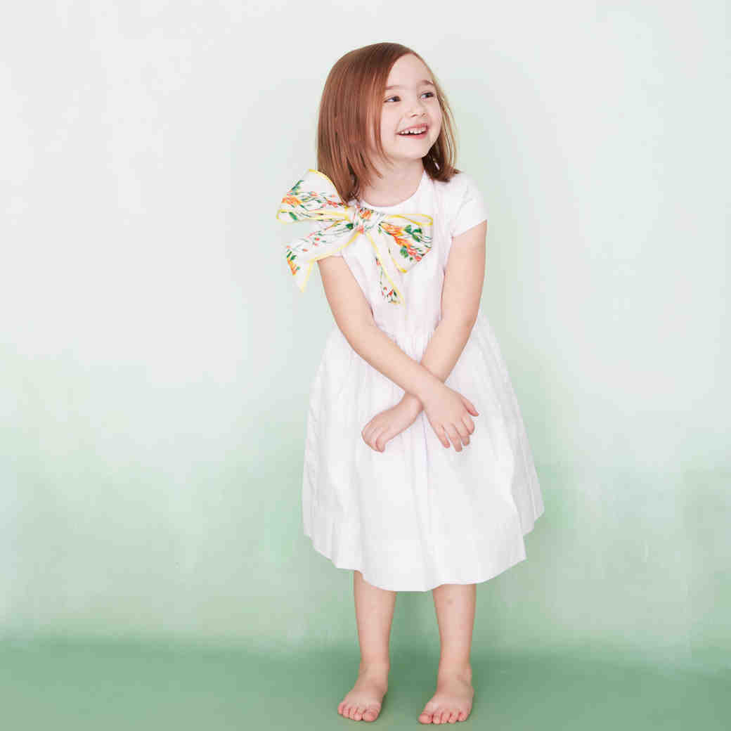 One Flower Girl Dress, Four Ways