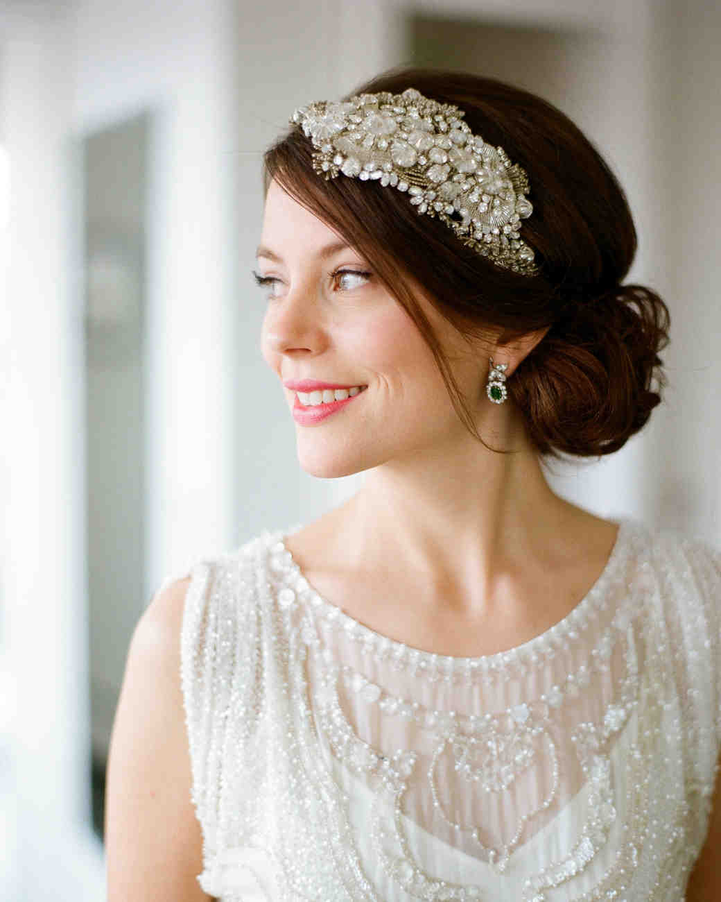 3 Gorgeous Hairstyles For Your Wedding Day images