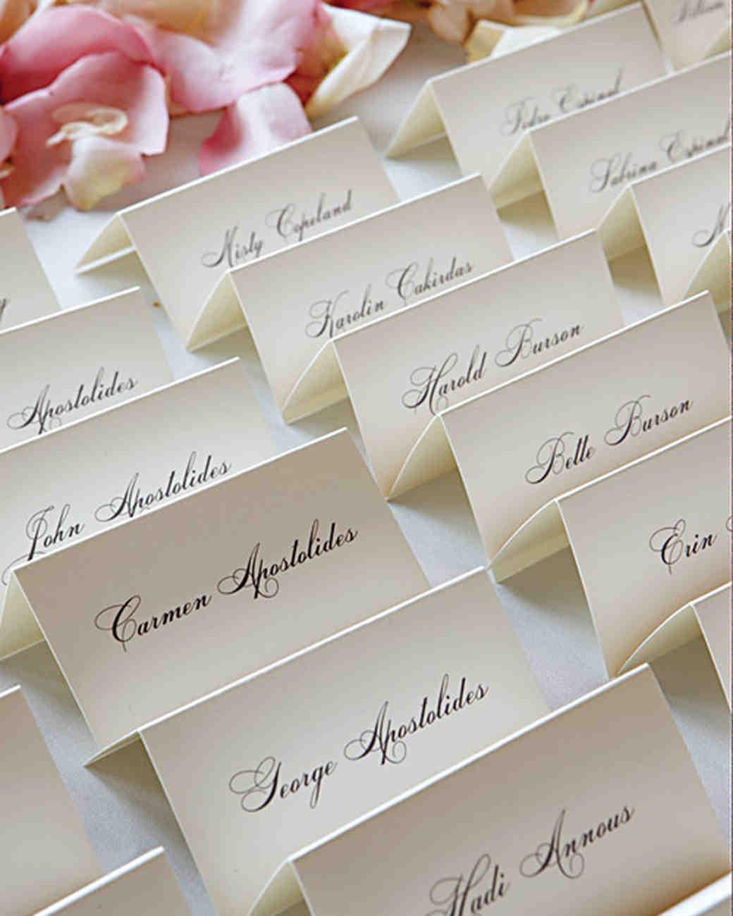 Делаем карточки для рассадки гостей на свадьбе 94