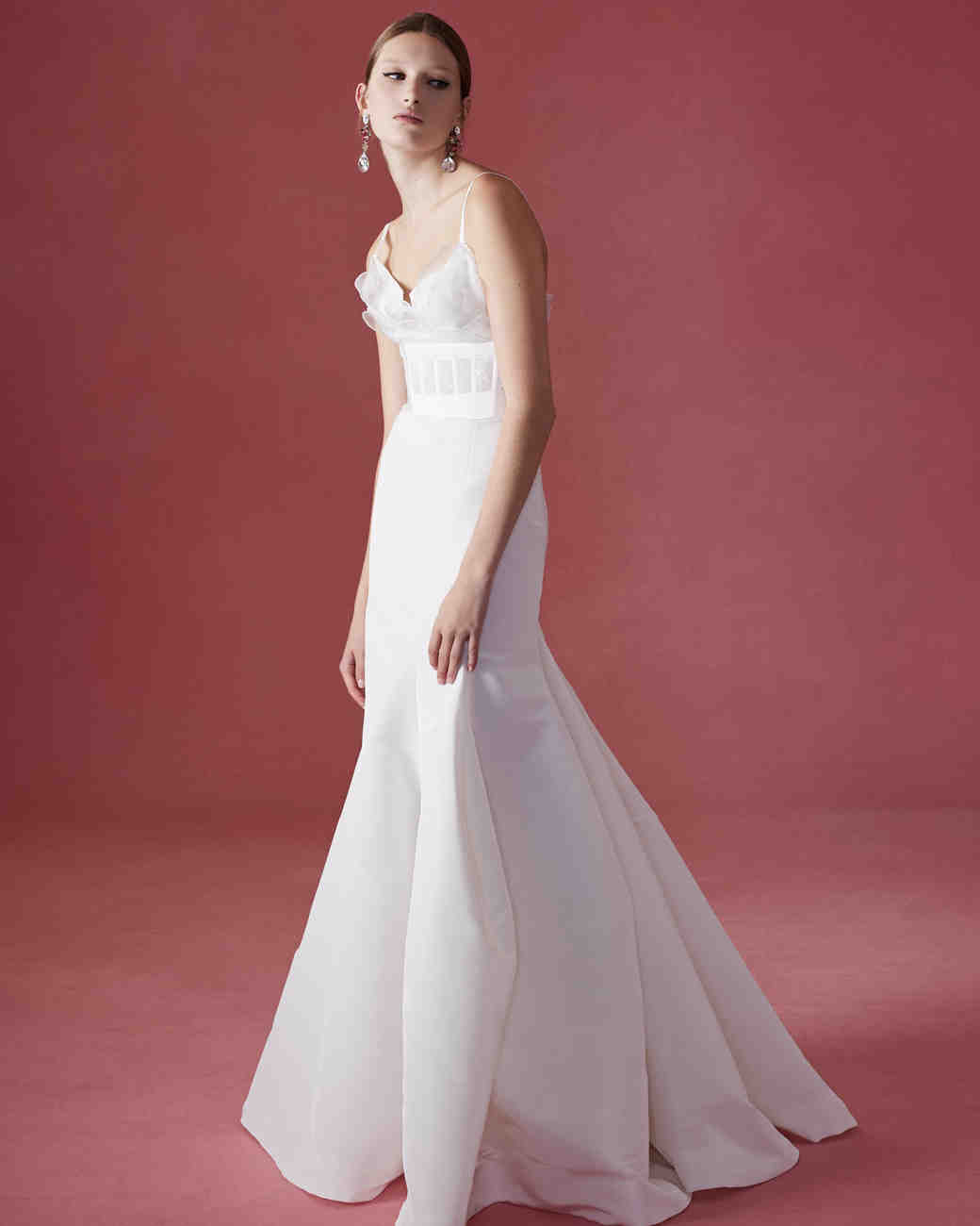 bridal fashion shows page 11 wedding dress for rent Oscar de la Renta Fall Wedding Dress Collection