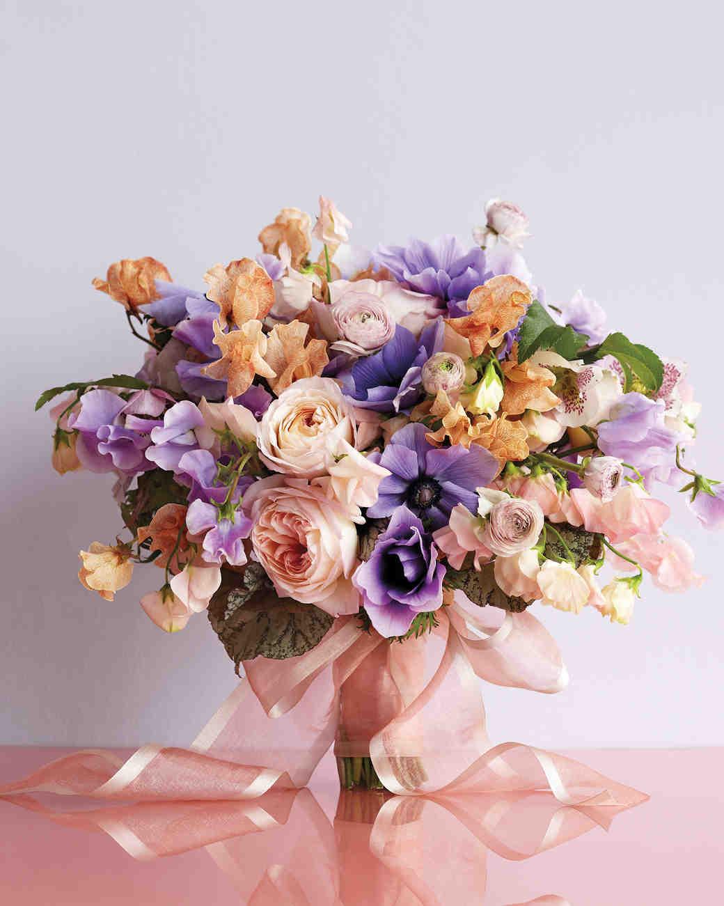 Martha Stewart Wedding Flowers Centerpieces : Pretty in pink wedding bouquet ideas martha stewart weddings
