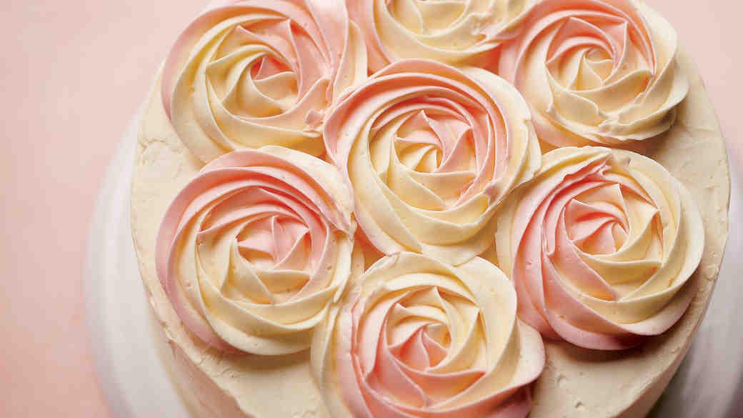 Rum Rose Cake