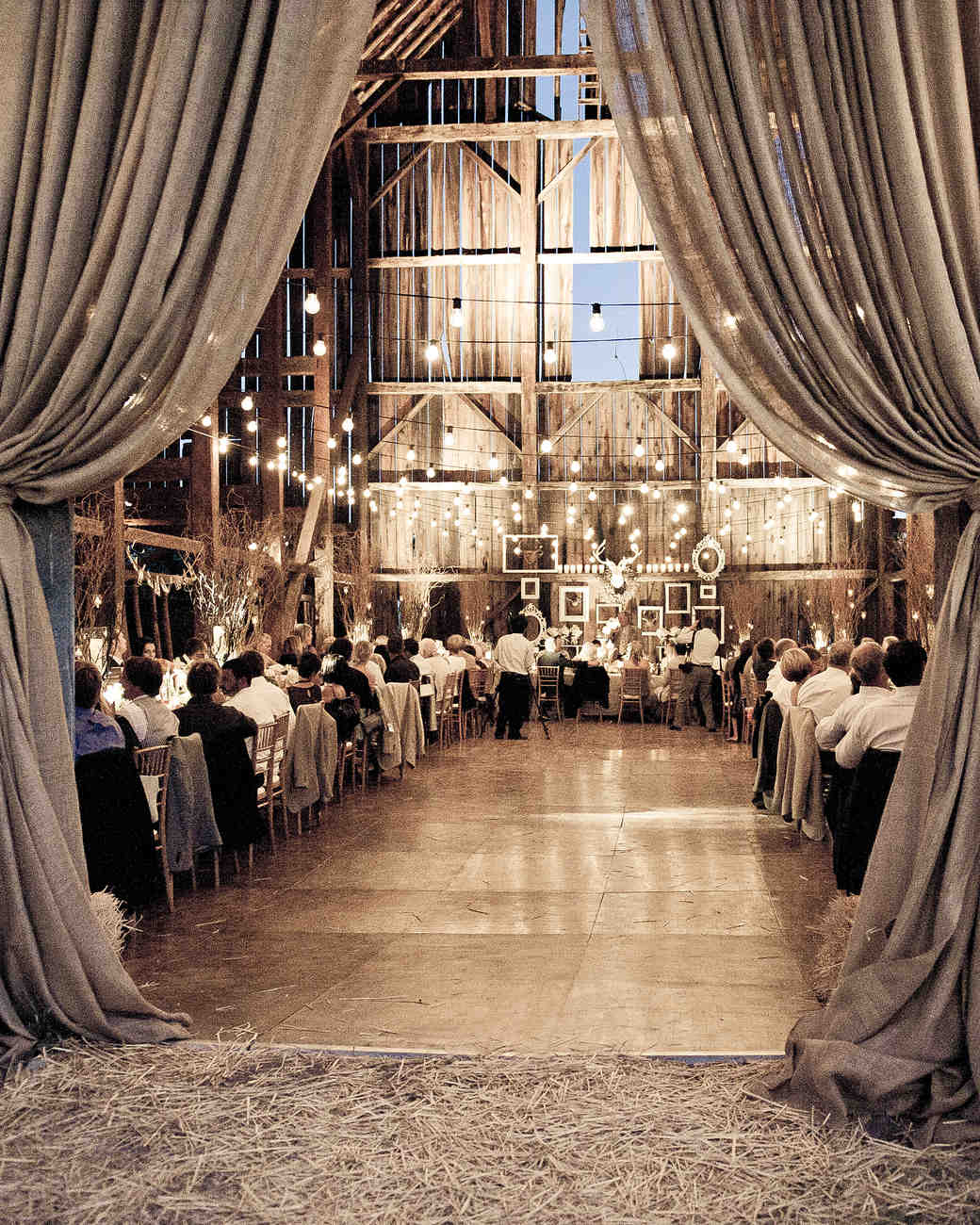 A Vintage Rustic Wedding In A Barn In California