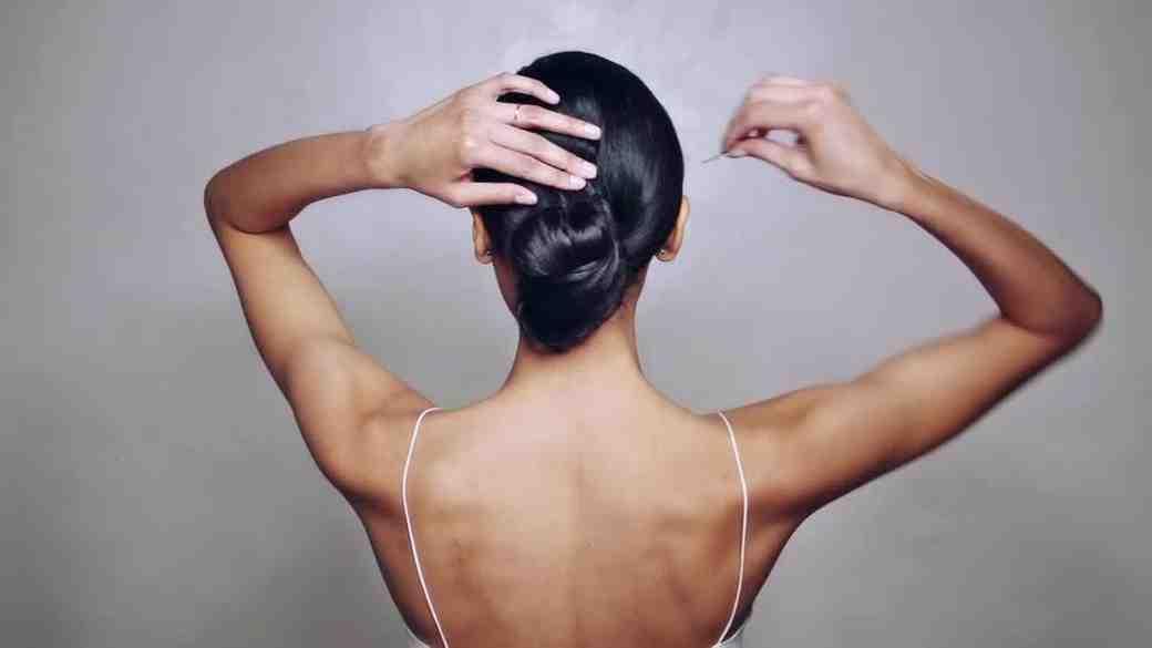 Sleek Bun Hairstyle How-To