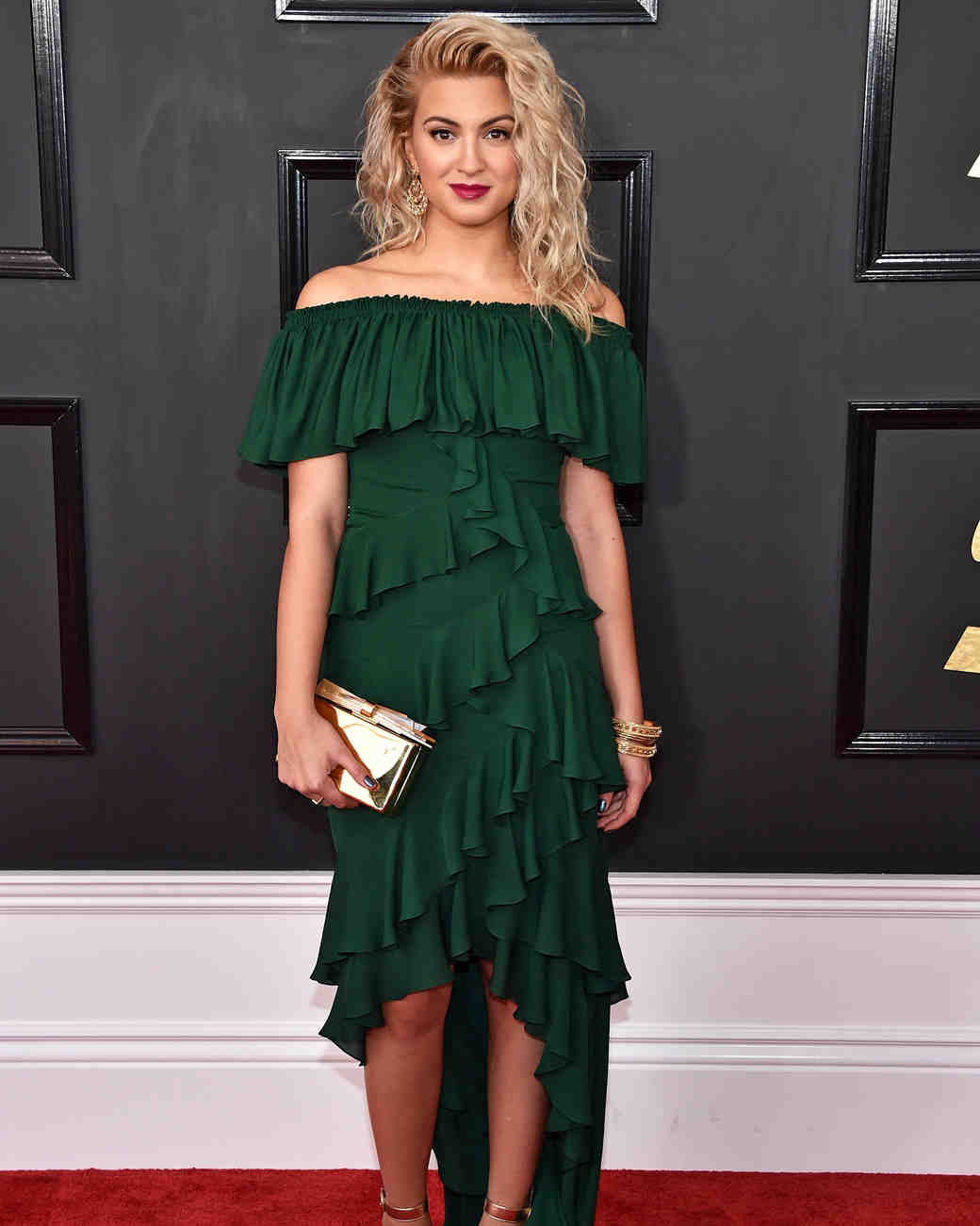 Tori Kelly at 2017 Grammy Awards
