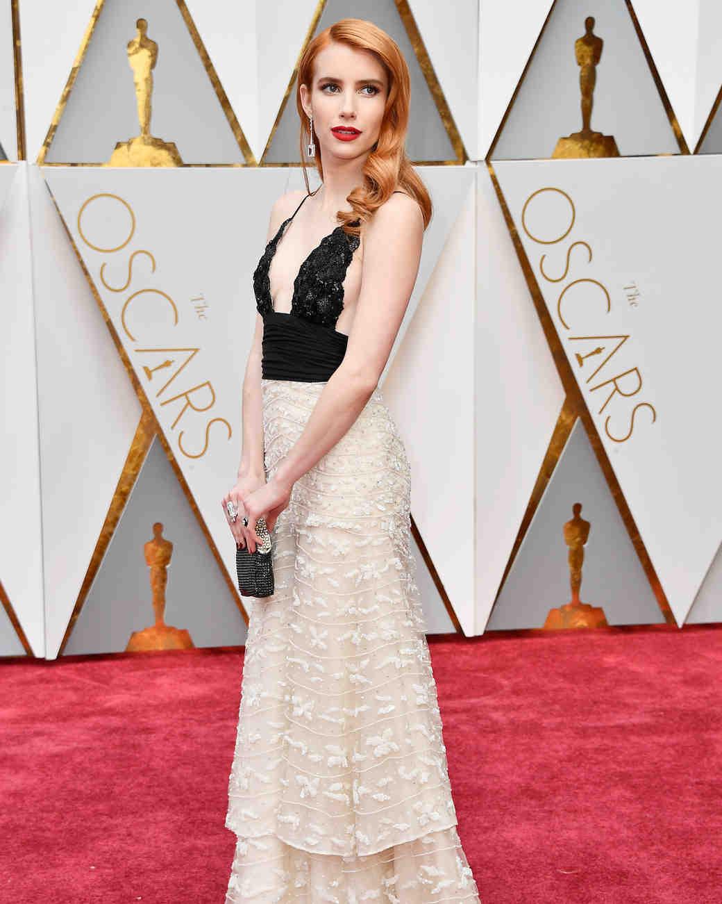 Emma Roberts 2017 OscarsRed Carpet