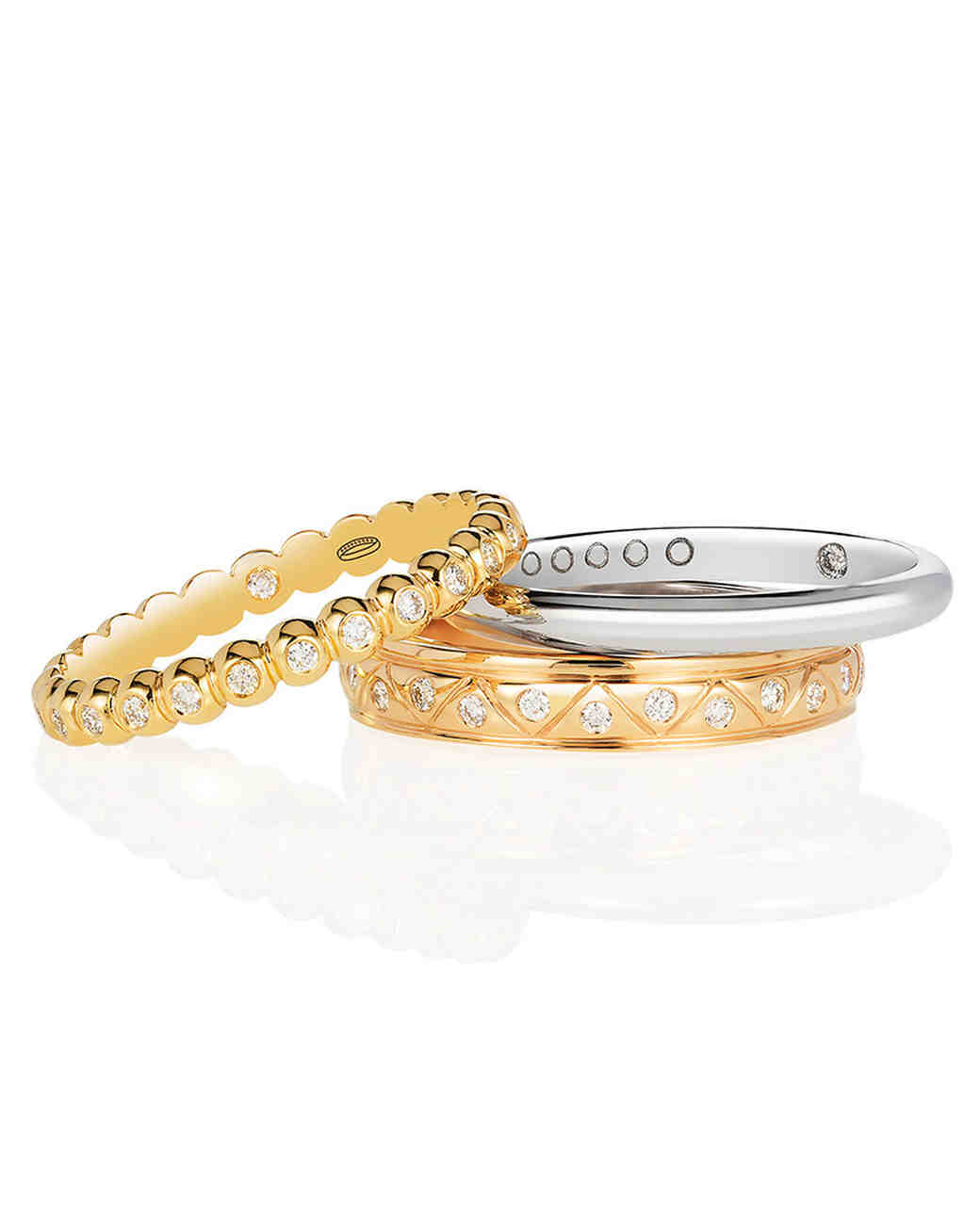 Everband Cirq, Trilogy, and Classic Stacking Rings