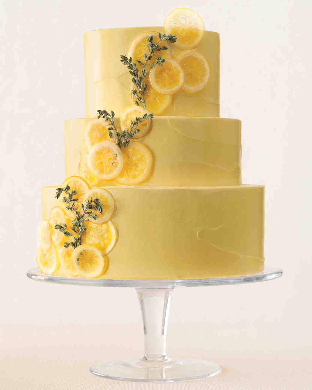 Lemon-Thyme Wedding Cake