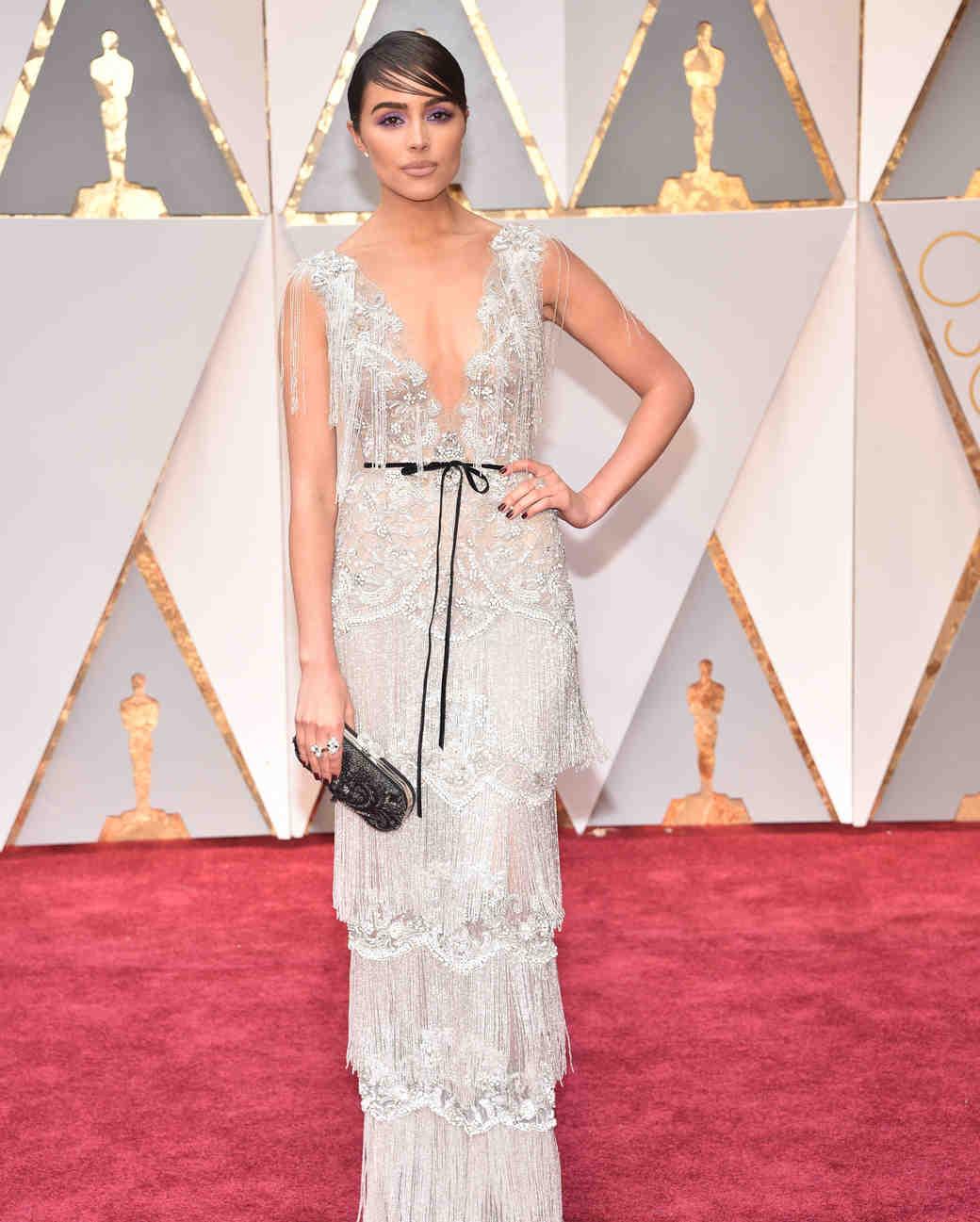 Olivia Culpo 2017 OscarsRed Carpet