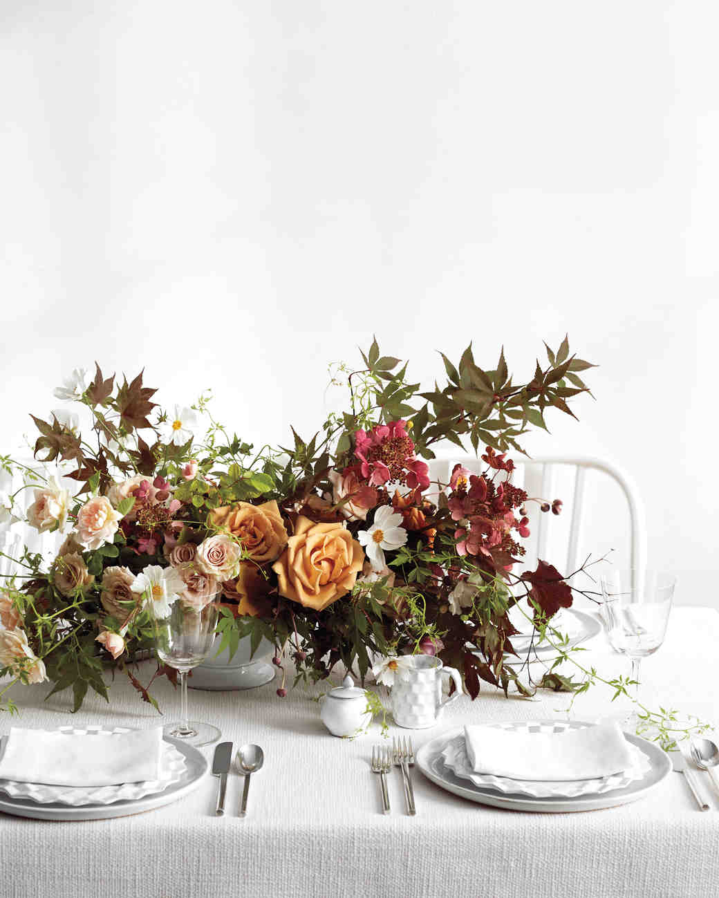 Ideas For Wedding Flower Arrangements: Fall Wedding Flower Ideas From Our Favorite Florists