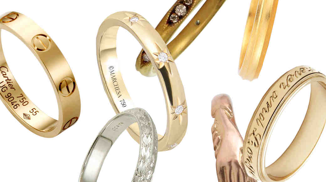 12 Gold Wedding Bands for Women That We've Taken a Shine To