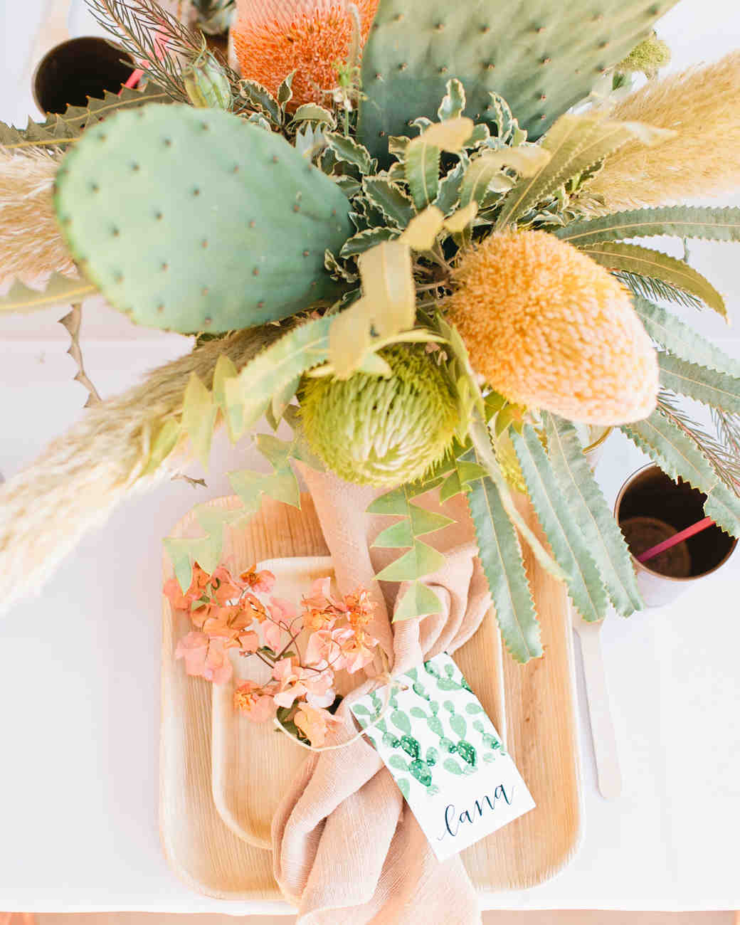 Cactus Wedding Centerpieces