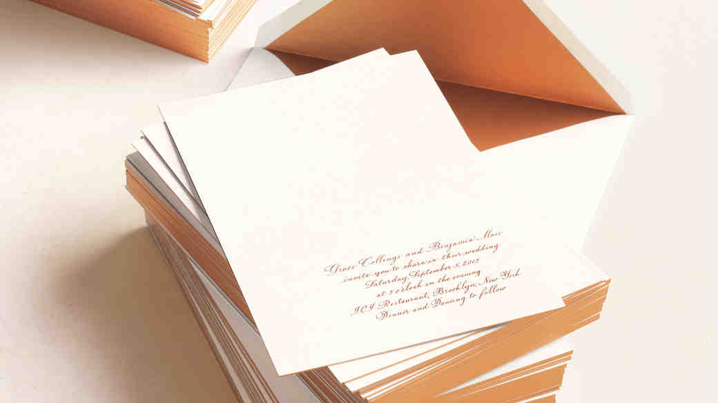 10 Things You Should Know Before Mailing Your Wedding Invitations